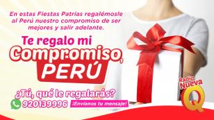 ¿Qué le regalarías al Perú en Fiestas Patrias?