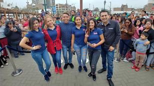 'Qumbias y Risas en tu barrio' llegó a Los Olivos y se vaciló con sus oyentes (VIDEO)