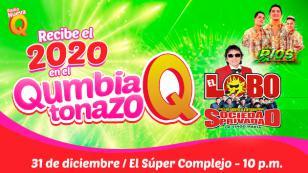 ¡Recibe el 2020 con el Lobo y La Sociedad Privada y Son de Ríos en el Qumbiatonazo de Radio Nueva Q!
