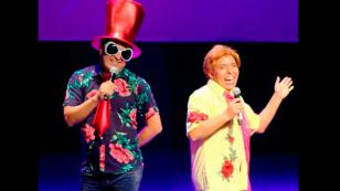 ¡Edwin Sierra y Oscar Del Río celebraron el aniversario de 'Qumbias y Risas' en el teatro! (FOTOS)