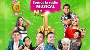 ¡Radio Nueva Q lidera sintonía en todo el Perú!