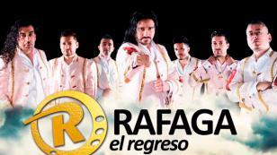Ráfaga cantó ante 40 mil personas en Chile
