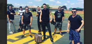 Ráfaga no pudo cumplir show en Pucallpa y realizó concierto gratis