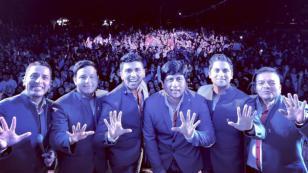 ¿Recuerdas cuando Grupo5 cantó junto a Cristian Castro?