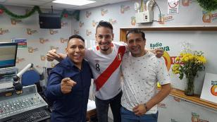 ¡Rodrigo Tapari presentó su nueva canción 'Que ya no me llame' en 'Qumbias y Risas'!