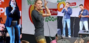 Marisol, Candela y Kiara Gonzalez hicieron bailar a miles en MegaPlaza