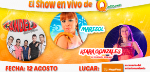 Baila gratis con Candela, Marisol y Kiara Gonzales en MegaPlaza