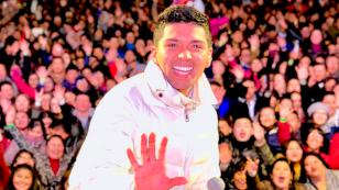 Sobrino de Christian Yaipén cantó en el QQQumbia con el Grupo5 en Ica (VIDEO)
