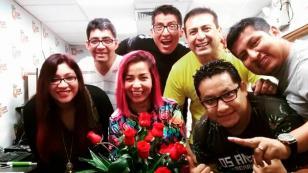 ¡Sorprendimos a Chris Alegría, por el Día de la Madre, en Radio Nueva Q, QQQumbia! (VIDEO)