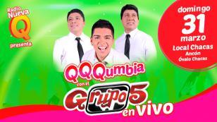 ¡Te regalamos entradas para el QQQumbia con el Grupo 5!