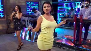 Thamara Gómez cantó con Corazón Serrano en concierto virtual