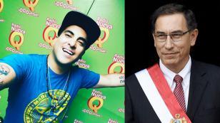 Tommy Portugal le dedicó divertida canción al Presidente Vizcarra