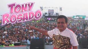Tony Rosado recibió una inesperada visita