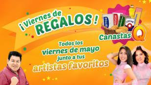 ¡Tus cantantes favoritos de cumbia te visitarán y te premiarán, gracias a radio Nueva Q!