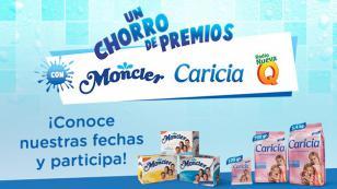 ¡Un chorro de premios con MONCLER, CARICIA Y RADIO NUEVA Q!