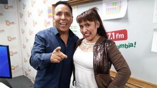 ¡Vacílate con los chistes saludos de Edwin Sierra y nuestra invitada Noelia! (VIDEO)