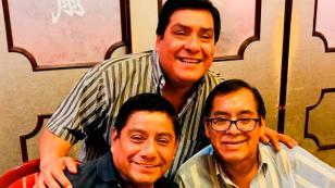 Víctor Yaipén, de Orquesta Candela, se reencontró con sus dos hermanos