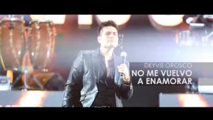 ¿Ya viste el video lyric oficial de 'No me vuelvo a enamorar' de Deyvis Orosco?